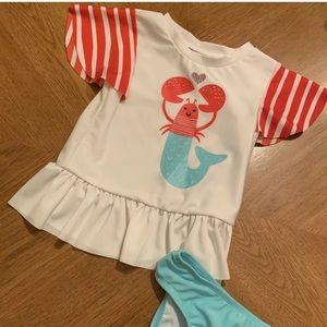 NWT toddler girls 2 pc swimsuit-3 sizes available